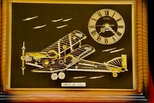 Linden Desk Clock ,1903 Bi Plane, from parts, # 4Rg272.