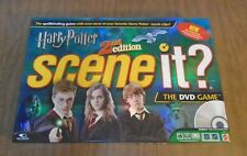 Harry Potter Scene It? 2nd Edition Replacement Parts DVD Dice Tokens Card U Pick