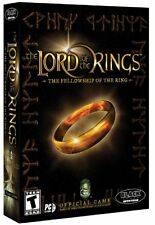 Lord of the Rings Fellowship of the Ring PC New in Box