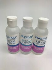 INVERNESS After Piercing Ear Care Solution 2oz 3pc Set Sealed