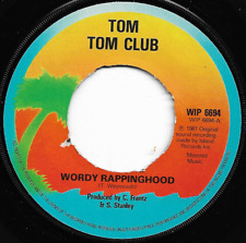 TOM TOM CLUB - WORDY RAPPINGHOOD - EARLY 80'S POP RAP / NEW WAVE (Metered Music)