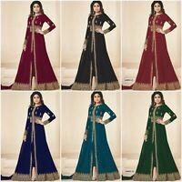 Designer Salwar Kameez Pakistani Suit Indian Bollywood Dress Anarkali Kameez KB