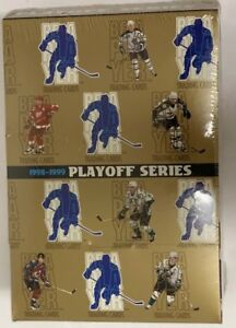 1998-99 Be a Player Playoff Series Hockey Box Factory Sealed HTF