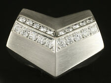 Extravaganter Platin Brillant Ring 42,1g 950/- Platin Meistermarke Cede