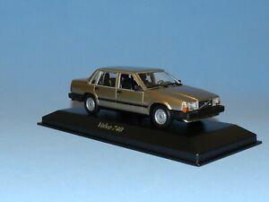 Maxichamps 1/43 1986 Volvo 740 GL Gold Metallic MiB