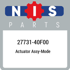 27731-40F00 Nissan Actuator assy-mode 2773140F00, New Genuine OEM Part
