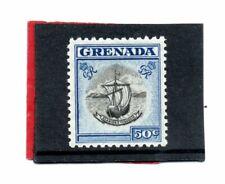 Grenada GV1 1951 50c black & blue sg 182 LH.Mint