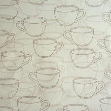 Rasch Tapete Kaffee Tassen creme Vliestapete 459715 Küchentapete