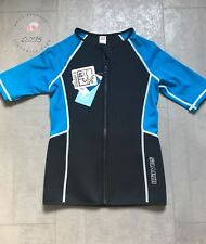 Kinder Neopren Shirt Anzug Wassersport Pool Urlaub Yigga 146/152 Neu