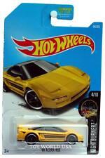 2017 Hot Wheels #94 Nightburnerz '90 Acura NSX yellow