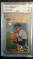 1987 Topps Tiffany Roger Clemens All Star PSA 9 Mint + 10 extra baseball card