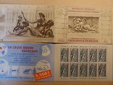 TIMBRE FRANCE CARNET CROIX ROUGE  année 1952