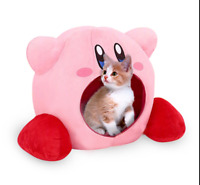 Super Kawaii Kirby Siesta Plush Sleep Pillow Cosplay Toy Pet Bed Calming Nest