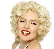 lizensiert 1950s Jahre Marilyn Monroe Kostüm Perücke Neues von Smiffys