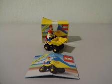 (B9) Legoland 6507 Mini Dumper with Original Packaging & Ba 100% Complete Used