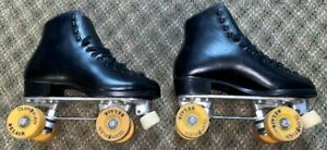 DOUGLASS SNYDER ROLLER SKATES RIEDELL BOOTS MEN'S SIZE 8 - FREE SHIPPING
