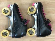 Pacer speed skates formula ll size 5 Black Roller Skates