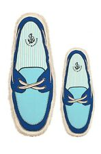 Harry Barker Boat Shoe Canvas Toy Large Blue