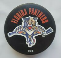 FLORIDA PANTHERS NHL INGLASCO OFFICIAL VEGUM HOCKEY PUCK VINTAGE - SLOVAKIA