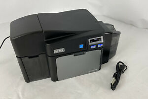 FARGO DTC4000 Thermal ID Magnetic Card Printer *No PowerSupply ONLY 3,485 Prints