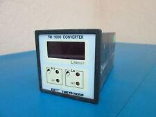 Tokyo Keiso TM-1000 Converter M-1313-1