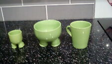 Ceramic breakfast set mug, bowl, cup