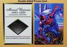 1994 FLAIR Double-Sided Inaugural Edition Promo Card + SPIDER-MAN _ SMOKE-FREE