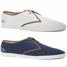 Lacoste Lace-up Textile Upper Material Casual Shoes for Men