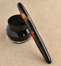 New ListingWancher Ebonite Goldfish Makie Urushi Ebonite Fountain Pen Body for Sailor Kop