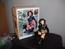 Mtv Aeon Flux Cold Cast Porcelain Statue 1996 with Box! Please Read!