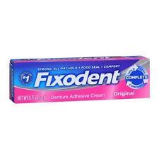 Fixodent Denture Adhesive Cream Original 0.75 oz Each
