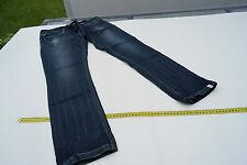Esprit Jeans Femmes pantalon jean skinny taille 28/30 stone délavé used darkblue rivets #43