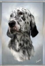 English Setter Dog A6 Blank Card / Notelet No.5 Design By Starprint