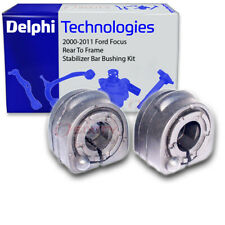 Delphi Rear To Frame Stabilizer Bar Bushing Kit for 2000-2011 Ford Focus - iu
