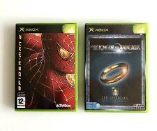 Lot de 2 jeux XBOX : Spider-man 2 + Le Seigneur des anneaux
