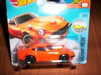 DATSUN 240 Z ARANCIO - HOT WHEELS - SCALA 1/55