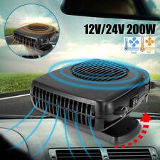 200W Car Heater Cooler Fan Air Warmer Windscreen Demister Defroster 12V/24V