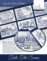 Anita Goodesign Toile Tile Scenes Special Edition Collection CD
