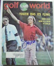 JERRY PATE signed 1976 US OPEN GOLF WORLD AUTO Autographed ALABAMA CRIMSON TIDE
