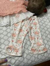 Baby Cute Orange Outfit 6-9 Months