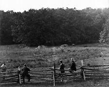 New 8x10 Civil War Photo: Scene of Fierce Fighting at Gettysburg Battlefield