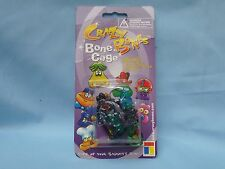 Crazy Bones BONE CAGE includes 1 bone,necklace string, keychain  NIP black