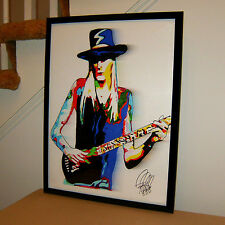 Johnny Winter, Guitar, Vocals, Blues, Blues Rock, Texas Blues, 18x24 POSTER