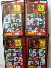 Teen Titans Set of 4 Comic Book Heroes - Small Figurines