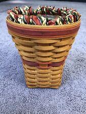 Longaberger 1998 Tall Snapdragon Basket Dresden Basket Co.