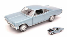 Chevrolet Impala SS396 Coupe' 1965 Blue 1:24 Model 2417 WELLY