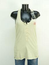 Jet set shirt top t M/Beige & tendance + neuf avec étiquette (K 9930)