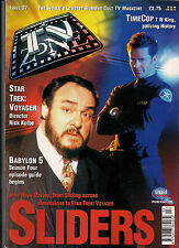 TV Zone#97 1997 TIME COP, SLIDERS, TIME TUNNEL