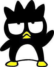 "HELLO KITTY BAD BADTZ MARU STICKER DECAL GRAPHIC (10"" X 10"")"