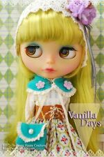 BHC Vanilla Day dress set for Kenne Blythe doll - doll outfit - FN589